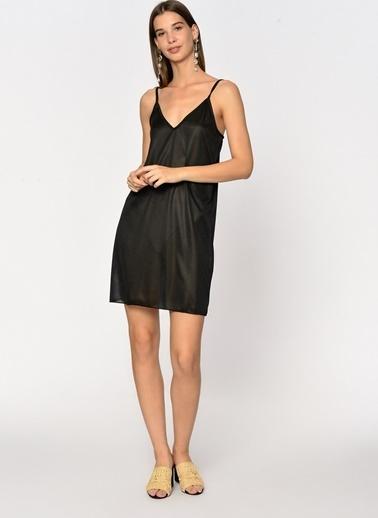 Loves You Askılı Micro İç Elbisesi Siyah